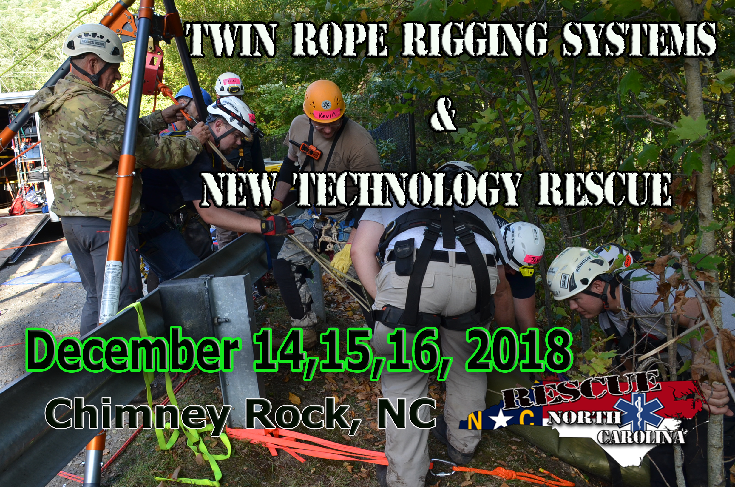 2018 Twin Rope Rescue