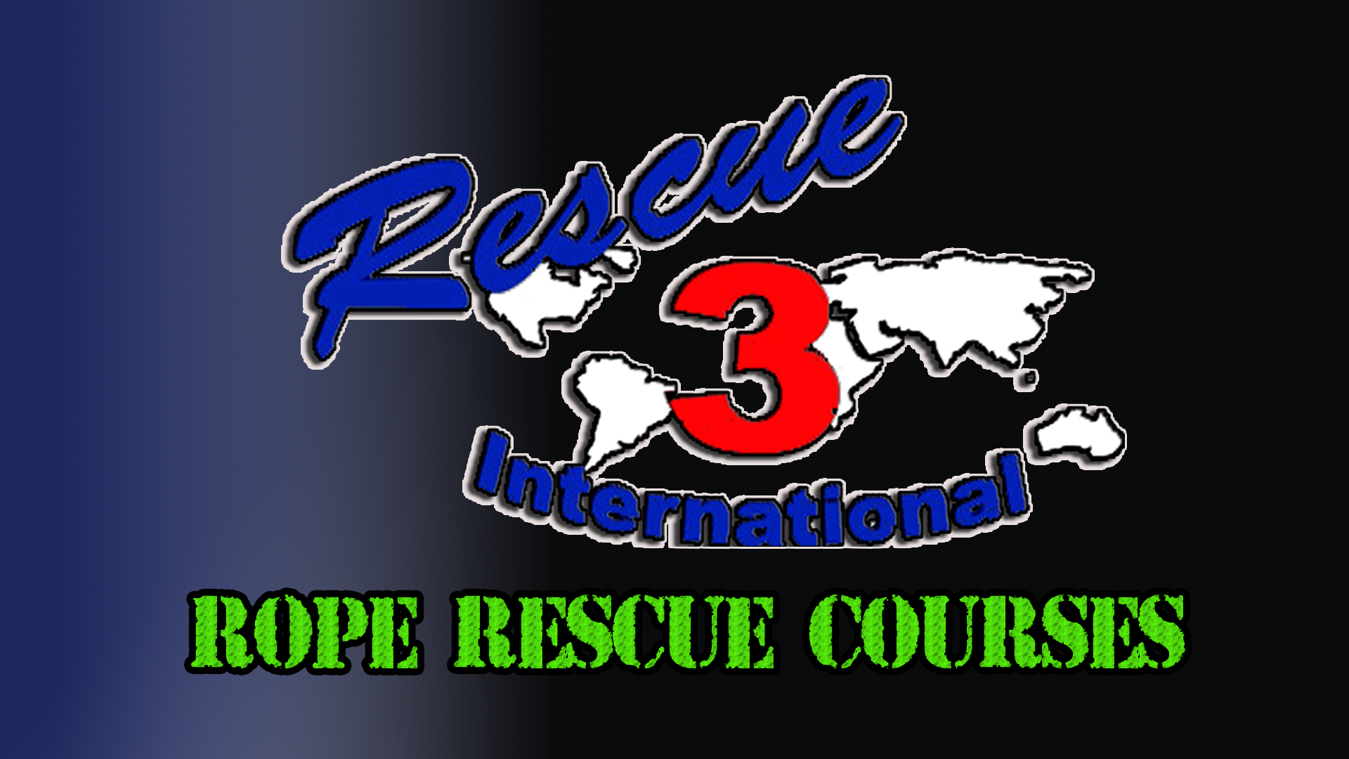 2019 Rescue 3 Rope Rescue Courses